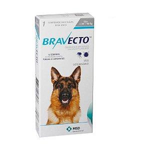 Bravecto 1000 mg 20 até 40 Kg