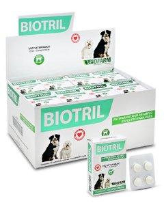 Biotril 4 Comprimidos