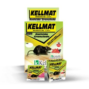 Kellmat Raticida 10 X 25 grs