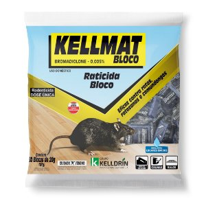 Kellmat Raticida Bloco  1 KG