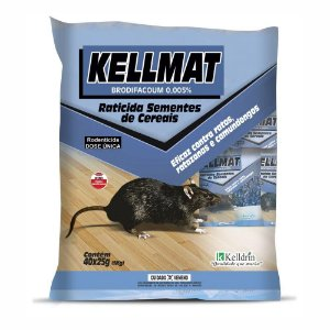 Kellmat Raticida Cereais 25 grs