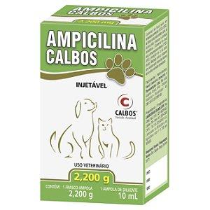 Ampicilina Calbos Pet 2200 Mg