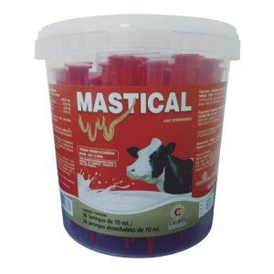 Mastical Pomada Vaca Lactação Balde com 36 X 10 gr