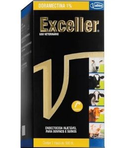 Exceller Injetável (Doramectina) 500 ml