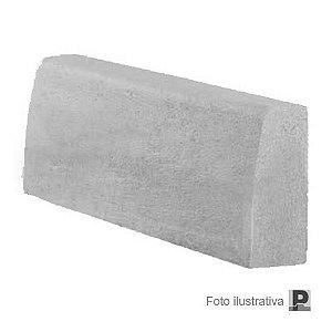 Meio-fio de concreto padrão SUDECAP (Tipo A)