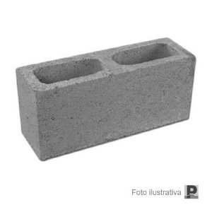 Bloco concreto aparente (09x19x39cm)