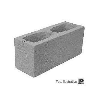 Bloco concreto aparente (14x19x39cm)