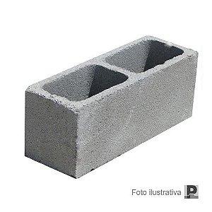 Bloco concreto aparente (19x19x39cm)
