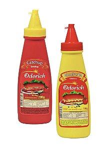 Kit Ketchup + Mostarda