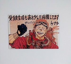 Placa Decorativa Yuji Itadori
