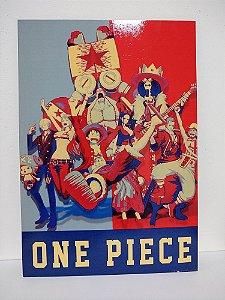 Placa Decorativa One Piece