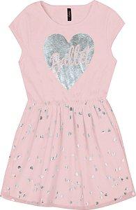 Vestido Infantil Menina Ballet Rosa