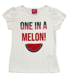 Blusa Infantil Menina Melon Bege