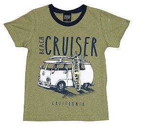 Camiseta Infantil Menino Cruiser Verde