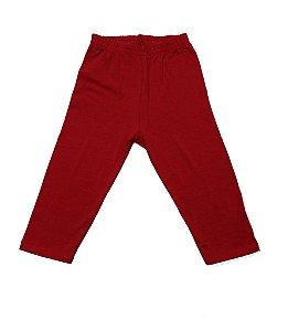 Legging em Cotton Vermelho
