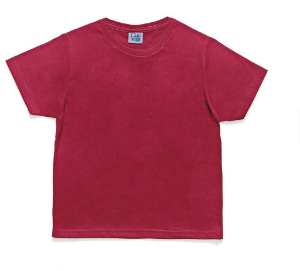 Camiseta  Infantil Menino Básica Vermelha