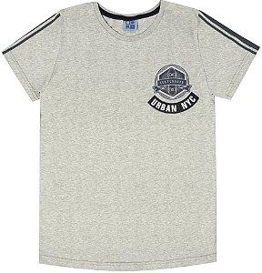 Camiseta Infantil Menino Urban NY  Mescla