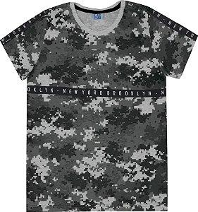 Camiseta Juvenil Menino Mescla