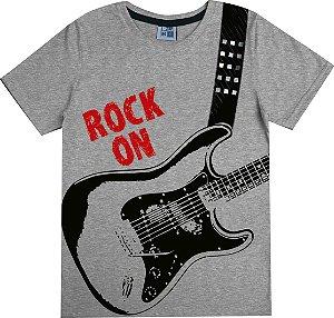 Camiseta Infantil Menino Rock Mescla