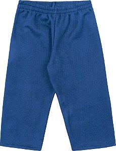 Calça Infantil Menino Liso Azul
