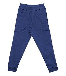 Calça Infantil Menino com Bolso Azul