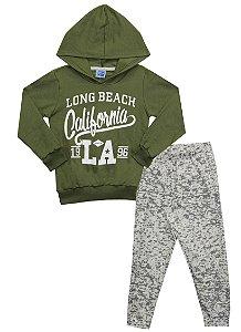 Conjunto Infantil Menino Califórnia Verde