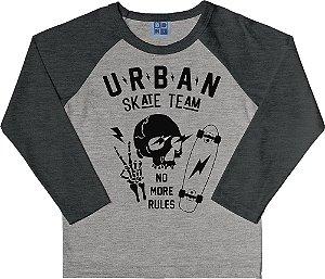 Camiseta Infantil Menino Urban Mescla