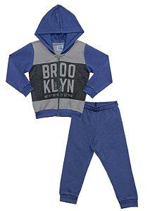Conjunto Infantil Menino Brooklyn Azul