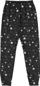 Calça Infantil Menina Estrelas Preto
