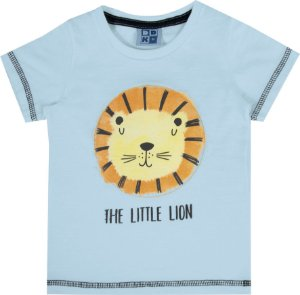 Camiseta Bebê Menino Lion Azul