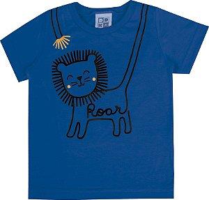 Camiseta Bebê Menino Roar Azul