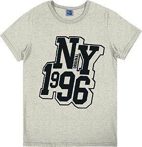 Camiseta Juvenil Menino NY 1996 Mescla