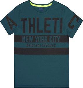 Camiseta Juvenil Menino Athletic Verde