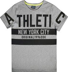Camiseta Juvenil Menino Athletic Mescla