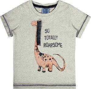 Camiseta Bebê Menino Interativa Mescla