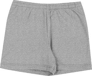 Shorts Infantil Menina Básico Mescla