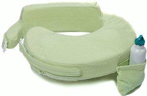 Almofada de Amamentação Deluxe Verde