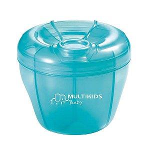 Dosador De Leite Em Pó Funny Meal Azul Multikids Baby - BB057