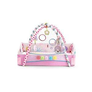 Tapete De Atividades Para Bebês Balls Rosa Multikids Baby - BB617