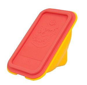 Porta Sanduiche Em Silicone Leão
