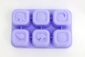 Forma Para Congelar Alimento Baleia