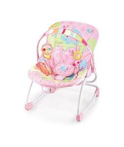Cadeira De Descanso Rocker Rosa