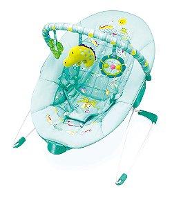 Cadeira De Descanso Verde Vibratoria