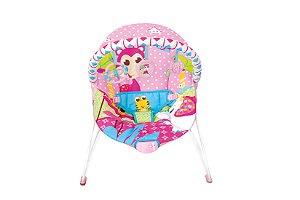 Cadeira De Descanso Vibratoria Rosa Girafa
