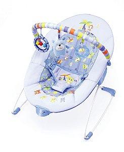 Cadeira De Descanso Azul Vibratoria