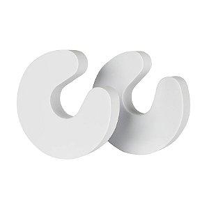 Kit 2 Protetores de Dedos p/ Porta Brancos