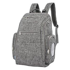 Mochila Back Pack Cinza