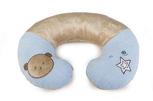 Suporte Pescoço Pequeno Urso Azul