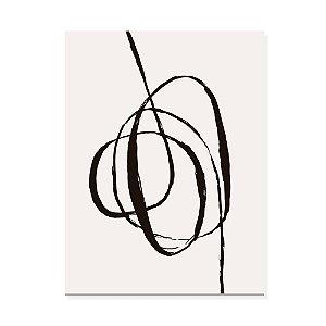 Placa Decorativa Abstrato 1