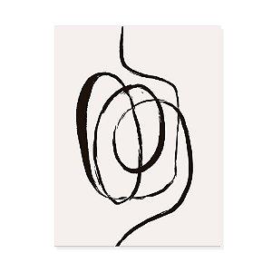 Placa Decorativa Abstrato 3